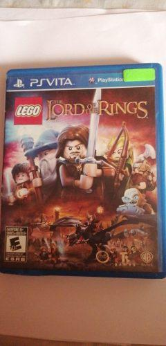 Juego Lego The Lord Of The Rings Psvita Usado