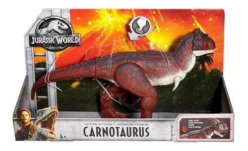 Jurassic World Carnotaurus Dinosaurio Mattel