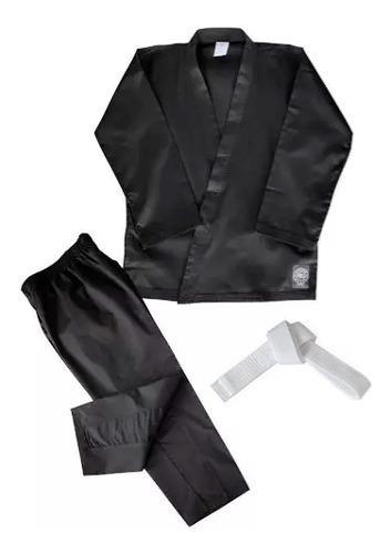 Karategui Korea Sport Light Color Negro Envio Gratis Hapkido