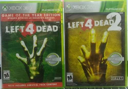 Left 4 Dead 1 Y 2 Xbox 360