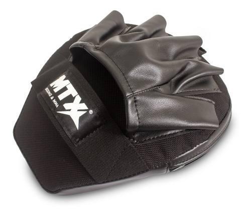 Manoplas Muay Thai Kick Boxing Box Piel Sintetica (un Par)