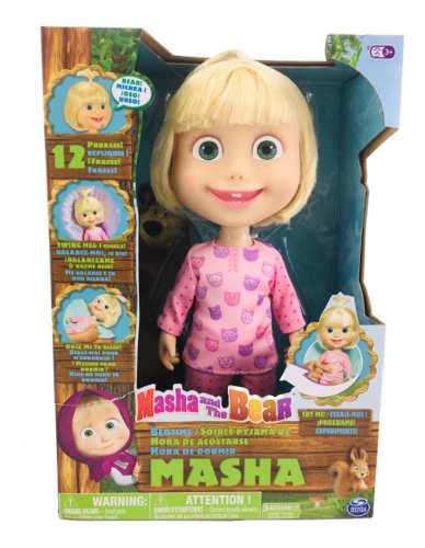 Masha Y El Oso 28 Cm Habla 12 Frases Spin Master