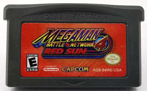 Megaman Battle Network 4 Red Sun Gba * R G Gallery