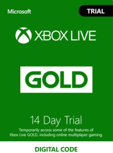 Membresía Xbox Live Gold 14 Días Envío Gratis Xbox One S
