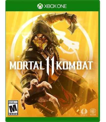 Mortal Kombat 11 Para Xbox One Original Envio Gratis