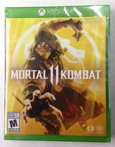 !!! Mortal Kombat 11 Para Xbx One En Wholegames !!!