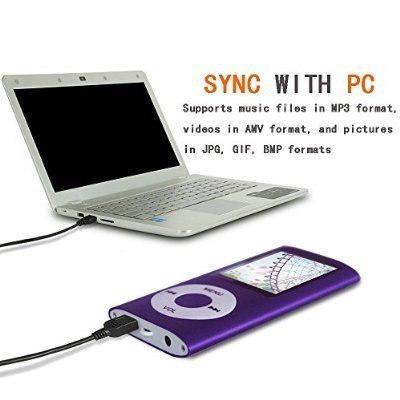 Reproductor Portátil De Mp3 / Mp4 Con 16 Gb Micro S Cdmx Df
