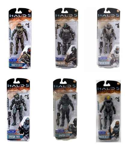 Set 6 Figuras Acción Halo 5 Guardians Series 1 Coleccion