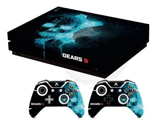 Skin Gears Of Wars 5 Para Xbox One S Set Stickers