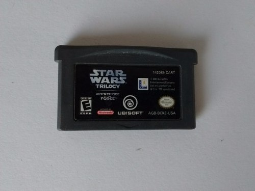 Star Wars Trilogy Apprentice Of The Force Gba Gane Boy C/e