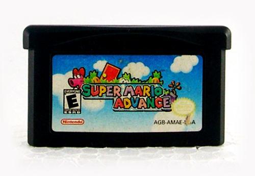 Super Mario Advance Gba Cartucho Con Instructivo