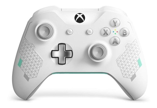 ® Xbox One Control Inalambrico Sport White Nuevo - Pc 3.5mm