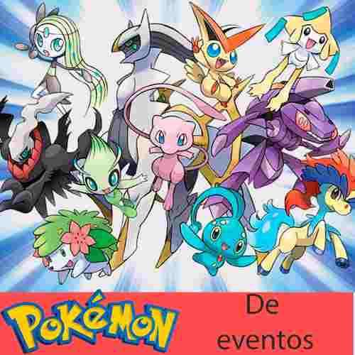 10 Pokemon De Evento Shiny Pikachu Eevee Nintendo 3ds