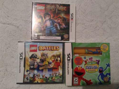 3 Juegos Para Nintendo Ds Y 3ds Nuevos (no Pokemon,mario)