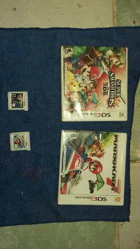 4 Juegos De Nintendo 3ds Originales