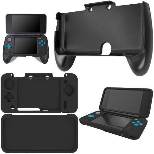 Afunta Grip Para New Nintendo 2ds Xl Con Funda De Silicona,