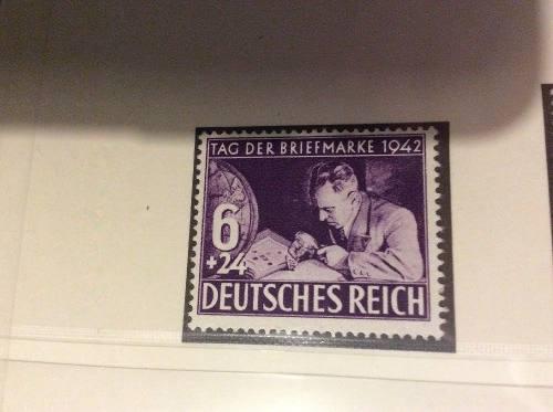 Alemania Nazi: Deutsches Reich Dia De La Estampilla
