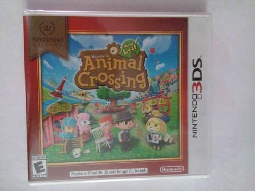 Animal Crossing New Leaf 3ds Nuevo Sellado Nintendo Trqs