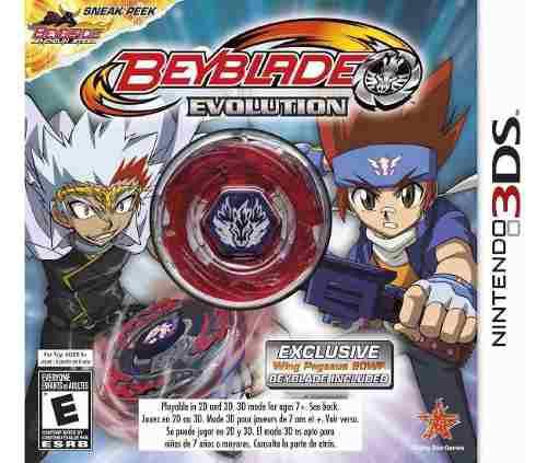 Beyblade Evolution Nintendo 3ds Edicion De Lujo Con Beyblade