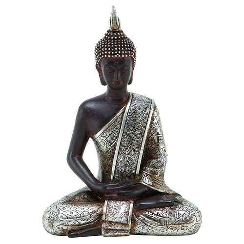 Buda Meditando Buddha Figura Escultura Estatua 20x15cm