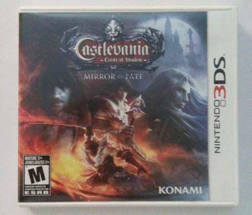 Castlevania Lords Of Shadow Mirror Of Fate 3ds Nintendo Los