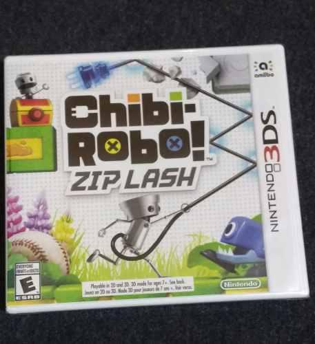 Chibi Robo Zip Lash Para Nintendo 3ds Nuevo Fisico