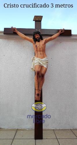 Cristo Grande 3 Metros Para Iglesia (crucifijo)