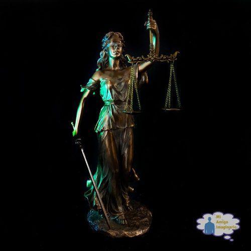 Derecho Y Leyes Figura De La Diosa De La Justicia Themis