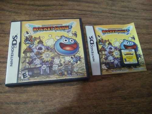 Dragon Quest Héroes Rocket Slime Nintendo Ds Nds