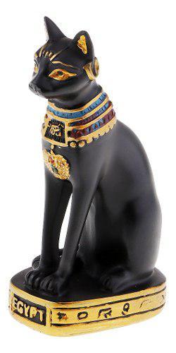 Estatua De Diosa De Gato Egipcio Estatuilla De Decoración