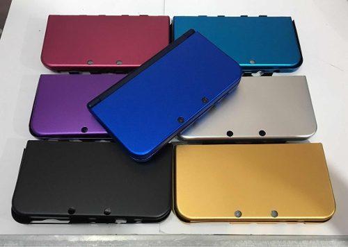 Estuche Protector Aluminio Para Nintendo New 3ds Xl Nuevo