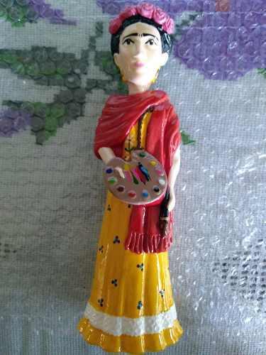 Figura Frida Kahlo Cerámica Original