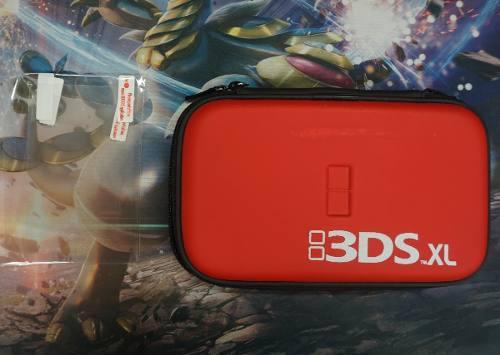 Funda Estuche Para Nintendo 3ds Xl Y Mica