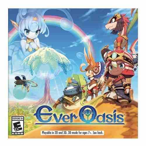Juego Nintendo 3ds Ever Oasis Nintendo Nuevo Sellado