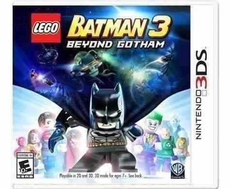 Lego Batman 3 Beyond Gotham 3ds Nuevo Y Sellado