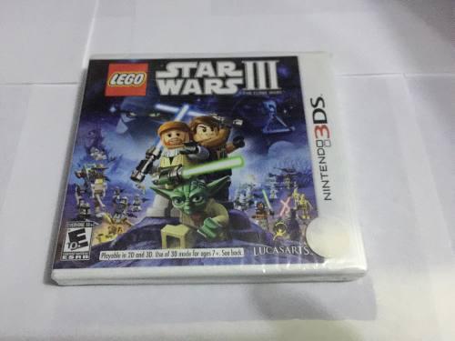 Lego Star Wars 3 Para Nintendo 3ds 2ds Nuevo Y Original