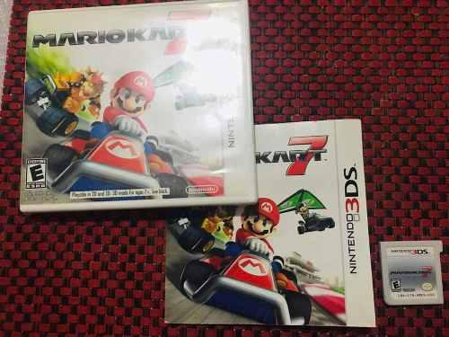 Mario Kart 7 Para Nintendo 3ds Usado En Excelente Estado