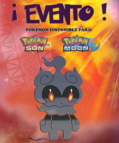 Marshadow / Pokémon Yo Te Elijo! - Evento - Sol Luna 3ds