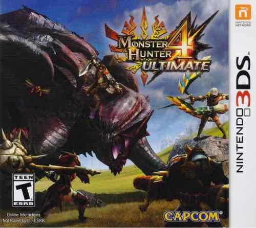 Monster Hunter 4 Ultimate Juego Nintendo 3ds Nuevo En Karzov