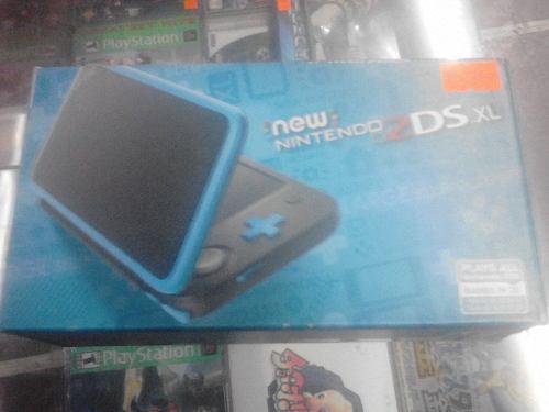 New Nintendo 2ds Xl En Caja E Instructivo Con Mem 16 Gb Jueg