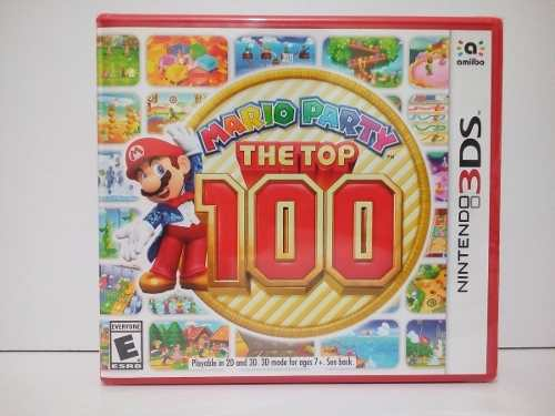 Nintendo 3ds Mario Party The Top 100