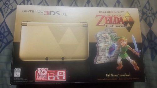 Nintendo 3ds Xl Edición Especial Zelda A Link Between
