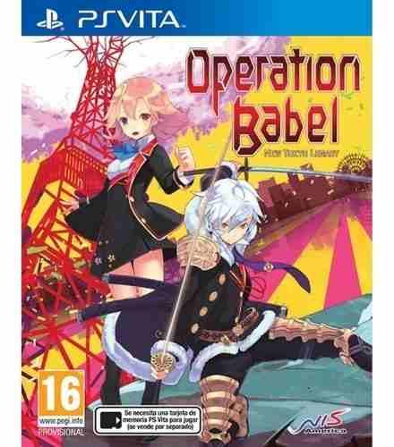 Operation Babel New Tokyo Legacy Playstation Vita Psvita