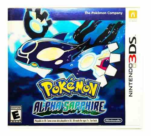 Pokemon Alpha Sapphire + 719 Pokemon - Nintendo 2ds & 3ds