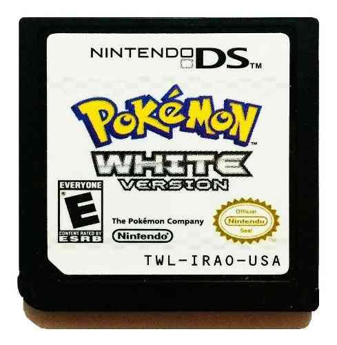 Pokemon White + 649 Pokes Shinys - Nintendo Ds 2ds & 3ds