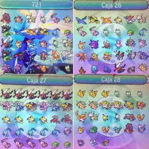 Pokemon X Pokedex Completa 721 Evento Shiny Envio Gratis