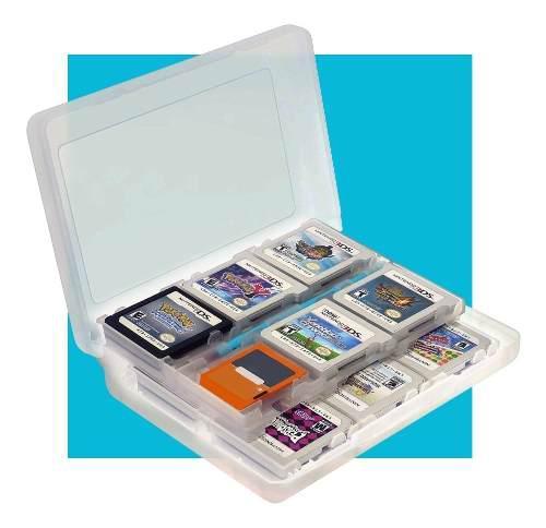 Porta Cartuchos 24 En 1 Switch 3ds 2ds Estuche Juegos Case
