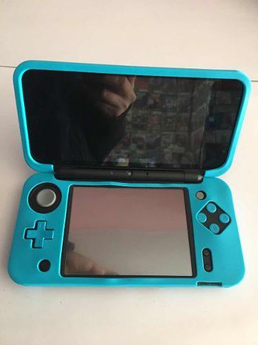 Protector Funda Silicon Para Nintendo New 2ds Xl Colores