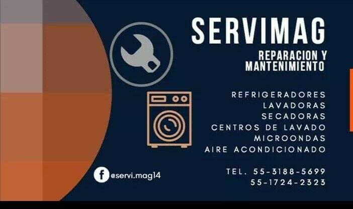 Reparación y mantenimiento de lavadoras refrigeradores y