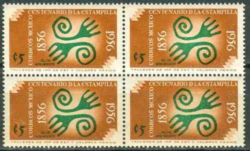 Sc 891 Año  Centenario De La Estampilla
